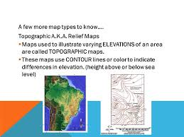 map types grade 10 geography skills unit map types projection methods of