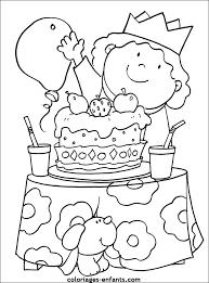 coloriage anniversaire a imprimer gratuit az coloriage