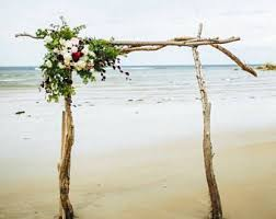 wedding arches singapore driftwood arbor etsy