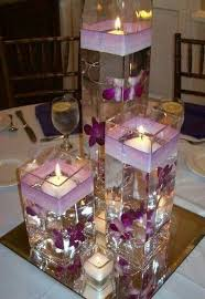 floating candle centerpiece ideas 19