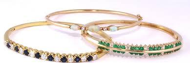bracelet gold bangle images Opal diamond bracelet 14k gold bangle bracelet with opal gemstone jpg