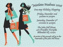 mistletoe madness dec 2 u00263 2016 u2013 one stop holiday shopping john