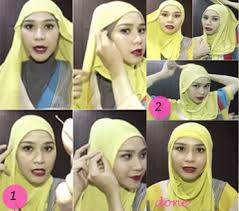 tutorial hijab paris zaskia hijab ke pesta ala zaskia sungkar tutorials hijab style