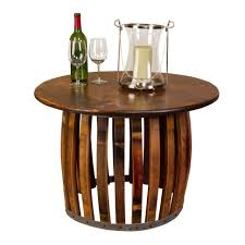 Wine Barrel Bar Table Coffee Tables How To Make A Wine Barrel Table Wine Barrel Table