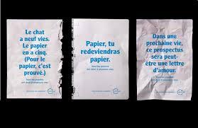 recyclage papier de bureau ecofolio lance une cagne pour augmenter le tri des papiers