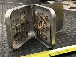 corsair r ervation si e wheatley silver aluminum fly box 10 4 rows 7 5