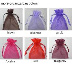organza favor bags organza favor bags set of 10 favor bags favor packaging