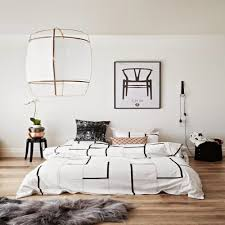 Black And White Wall Decor For Bedroom Decorating Bedrooms With White Walls
