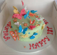 birthday cakes with butterfly decorations image inspiration