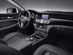mercedes interior mercedes cls550 interior shown with black leather and black