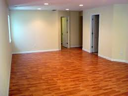 interior waterproof basement flooring ideas wood with two white