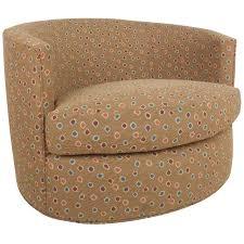 Swivel Chairs For Sale Mid Century Modern Milo Baughman Style Barrel Back Swivel Chair