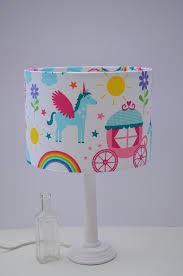 lampshade girls bedroom nursery lamp unicorn decor girls