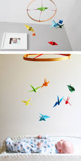 diy paper crane mobile paper crane mobile crane mobile and