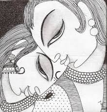 218 best hands line art images on pinterest indian art indian