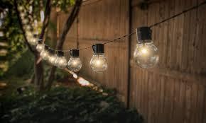 edison bulb patio lights socialite 20 solar patio edison led string lights 1 2 or 4