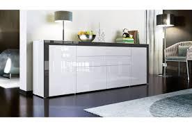 Dressoir Blanc Laque by Bahut Design Blanc A Portes Et Tiroirs Buffet Design Blanc 166cm