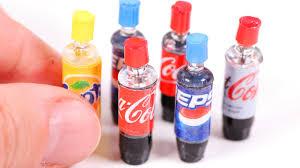 diy miniature soda bottles coca cola etc youtube