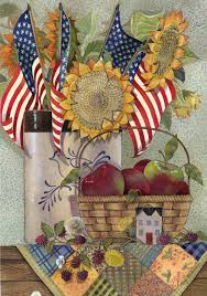 American House Flag American Sunflower Flag Mad About Gardening