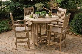 Amish Outdoor Patio Furniture Amish Polywood 5 Mission Style Patio Dining Furniture
