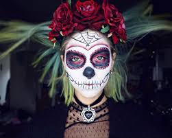 Cool Halloween Makeup Ideas For Men by Halloween Easy Sugar Skull Makeup Tutorial With Sophie Hannah