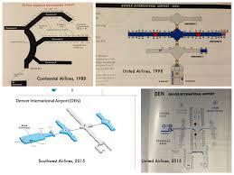 Denver Maps Denver Airport Terminal Maps 1988 2015 Four Airline Termi U2026 Flickr