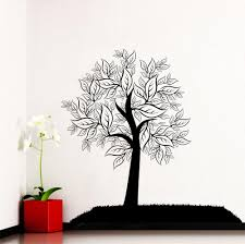 28 tree silhouette wall sticker fairy tree shadow tree silhouette wall sticker wall decal tree silhouette leaves forest from