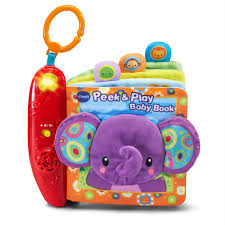 baby books online vtech peek and play baby book purple online