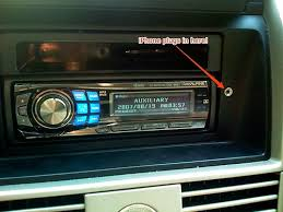 Aux Port Not Working In Car Add A Dashboard Jack For Your Car Stereo U0027s Rear Aux Input