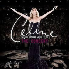 Céline Dion - Taking Chances World Tour affiche