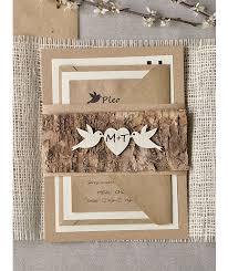 rustic invitations 21 charming rustic wedding invitations mon cheri bridals
