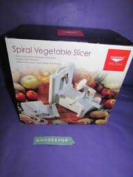 paderno cuisine spiral vegetable slicer paderno cuisine spiral vegetable slicer a4982799 w box