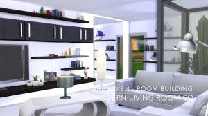 Modern Living Room Designs 2016 The Sims 4 Room Building Modern Living Room Sq Youtube