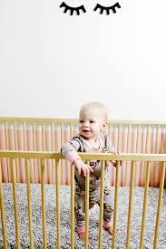 Monarch Crib Mattress By Colgate Diy Crib Sheet Giveaway See Kate Sew