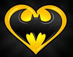 draw batman heart step step dc comics comics free