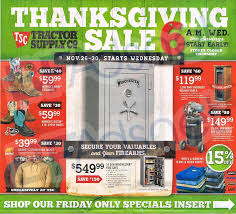 tractor supply thanksgiving sale 2014 flyer and ad scan sale