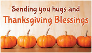 hugs and blessings ecard free thanksgiving cards