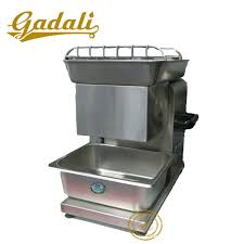 table top meat slicer china high productivity table top meat slicer with tray yq 90t