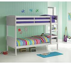 Buy HOME Detachable Bunk Bed With Ashley Mattress White At Argos - White bunk beds uk