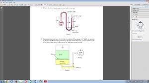 fluid mechanics image attached 1 what is the ab chegg com