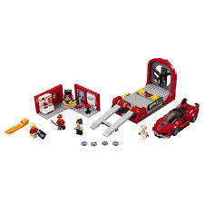 ferrari lego lego speed champions ferrari fxx k u0026 development center 75882