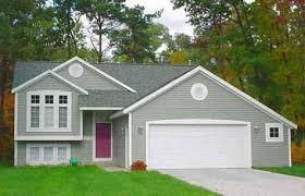 bi level home plans small traditional style bi level house plan servina