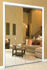 Bifold Mirrored Closet Doors Lowes Mirror Bifold Closet Door Mirror Closet Doors Sliding Wardrobe