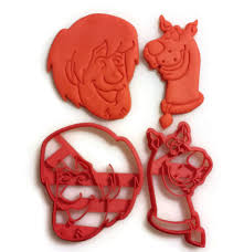scooby doo cookie cutter fondant cutter set things4thinkers