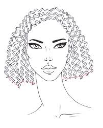 sketches of hair how to draw curly hair i draw fashion