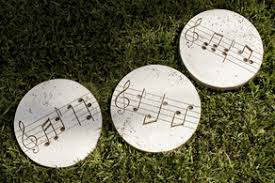 musical stepping stones decorative garden stones yard garden