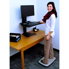Standing Desk Mats by Victor Steppie Balance Board The Healthy Alternative To Anti