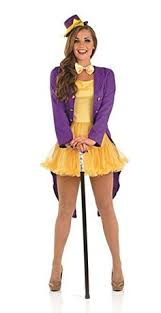 Movie Star Halloween Costumes Willy Wonka Costume Woman Fantasias Willy
