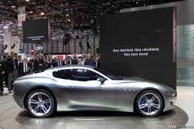 maserati models interior maserati alfieri concept previews new halo model