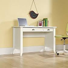 Sauder Harbor View Corner Computer Desk Antiqued White Finish Amazon Com Sauder Harbor View Computer Desk Antiqued White